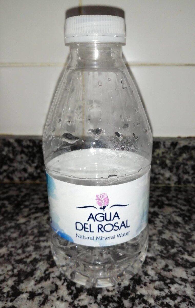 Agua del rosal - Producto
