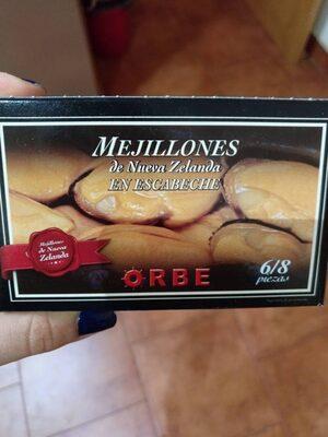 Mejillones de Nueva Zelanda en escabeche - Product - es