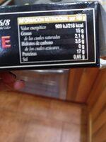 Mejillones de Nueva Zelanda en escabeche - Nutrition facts - es