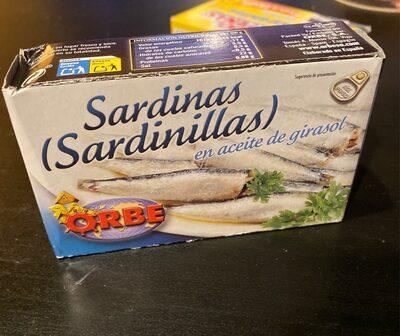 Sardinas (sardinillas) en aceite de girasol