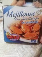 Mejillones de las rías gallegas - Product