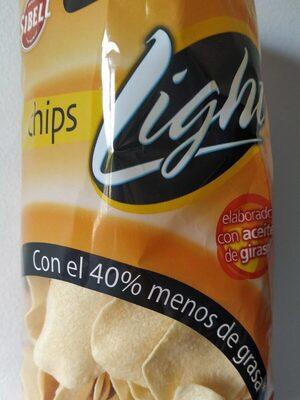 Chips light - Produit - es