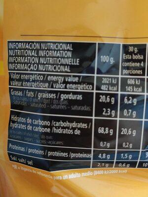 Chips light - Informations nutritionnelles - es