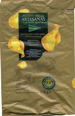 """Patatas fritas lisas """"El Corte Inglés"""" Artesanas - Producto"""