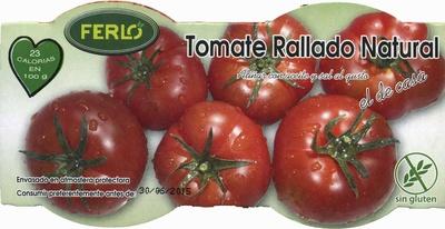 Tomate natural rallado - Produit - es