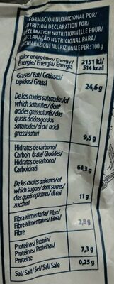 Polvorón almendra selección tradicional - Informations nutritionnelles - fr
