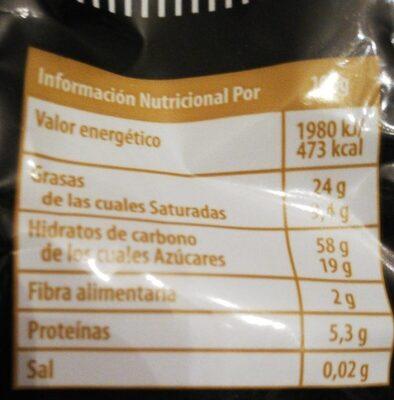 Rosco vino - Nutrition facts