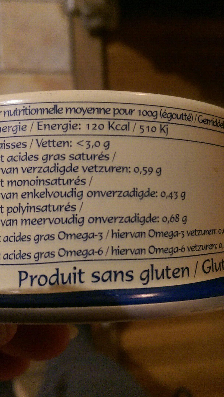 Thon Au Naturel 280G Format Familial - Ingrediënten