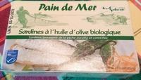 Sardines à l'Huile d'Olive Biologique - Product - fr