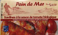 Sardines a la sauce de tomate biologique - Produit