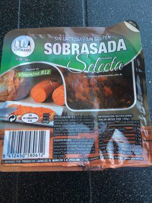 Sobrasada - Produit