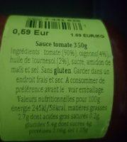 Sofrito de tomate - Ingrédients - fr