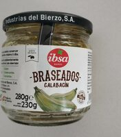 Calabacin braseados - Produit - es
