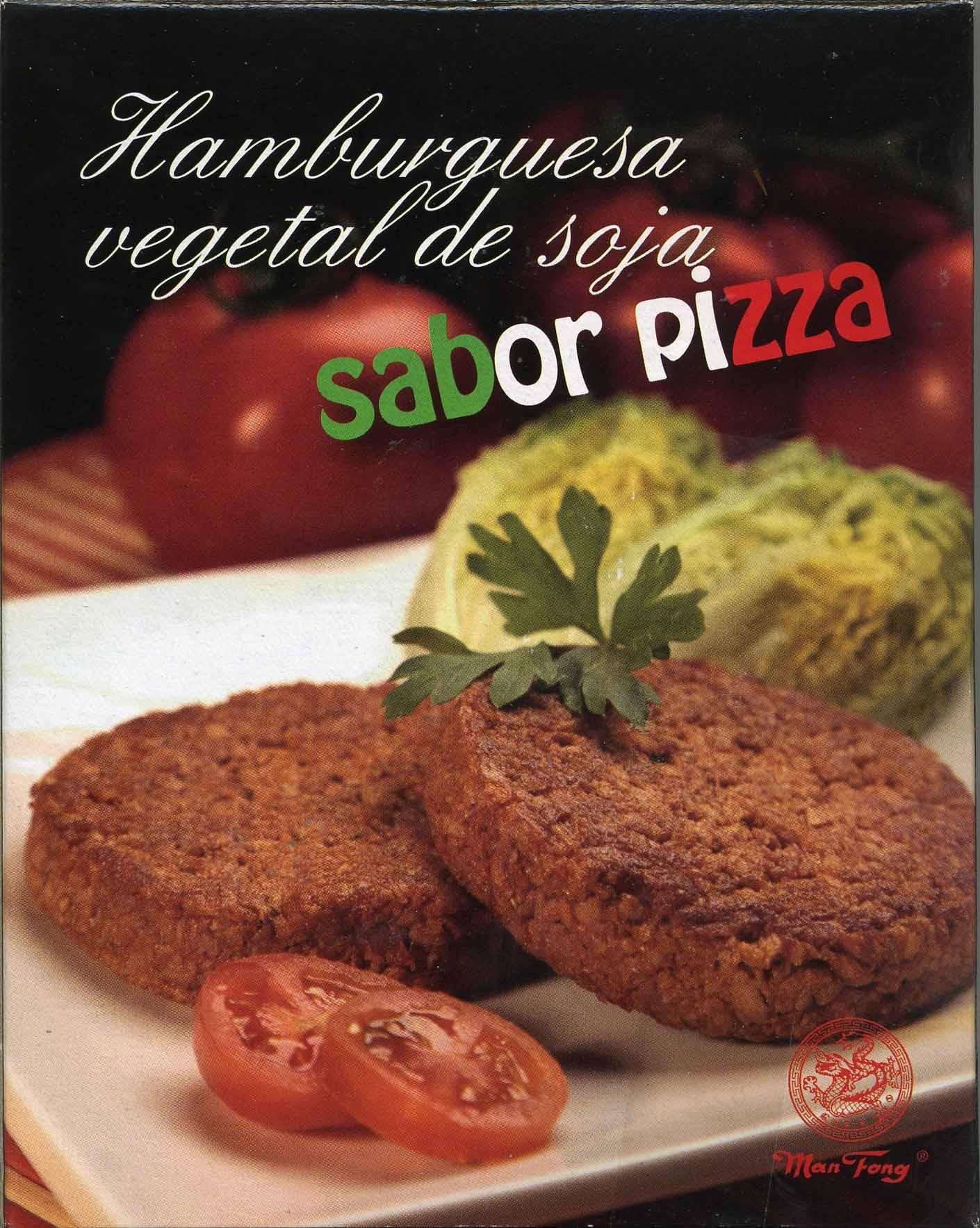 Hamburguesa de soja sabor pizza - Producto
