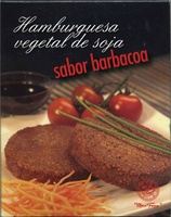 Hamburguesa vegetal de soja sabor barbacoa - Producto