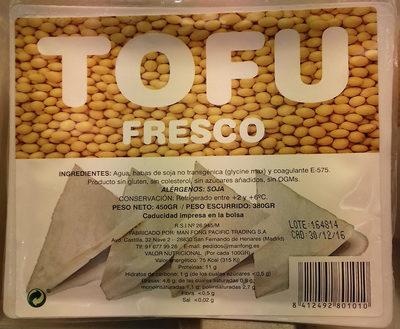 Tofu fresco - Producto - es