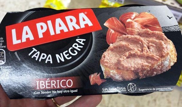 Paté Tapa Negra Iberico La Piara - Producto - es