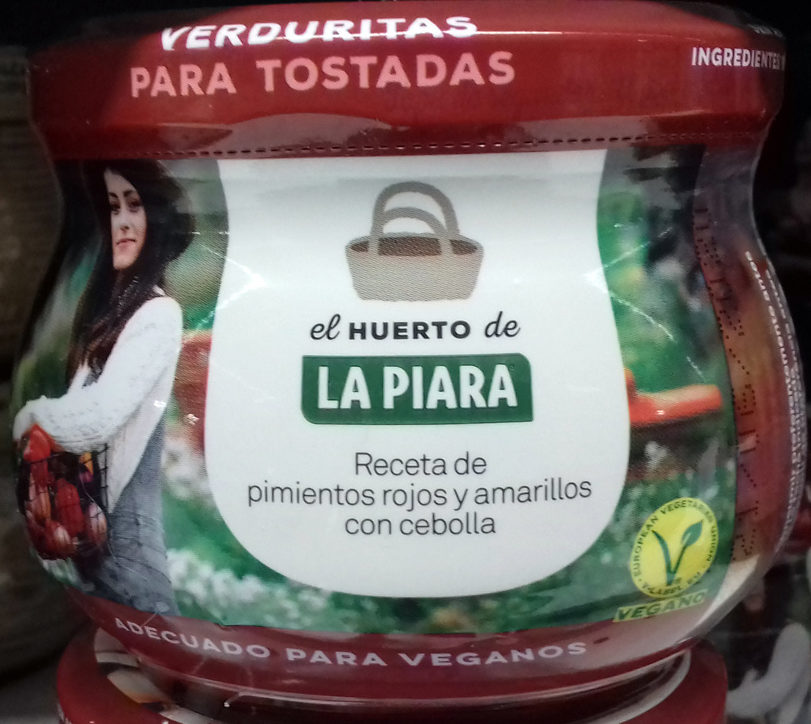 Verduritas para tostas - Producto - es