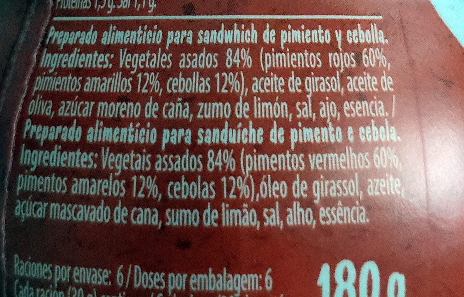 Bocadelia Veggie - Ingredients - es