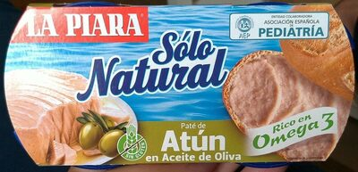 Paté de Atún en Aceite de oliva - Product