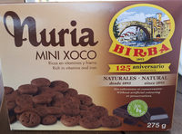 Galetes Nuria Mini Xoco Birba - Product
