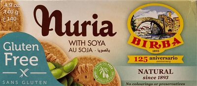 Nuria with soya gluten free - Producto