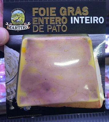 Foie gras entero de pato mi cuit - Producte