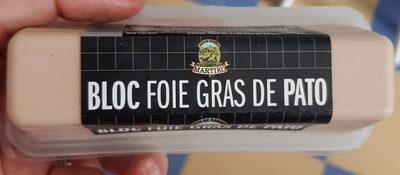 Bloc foie gra de pato - Product