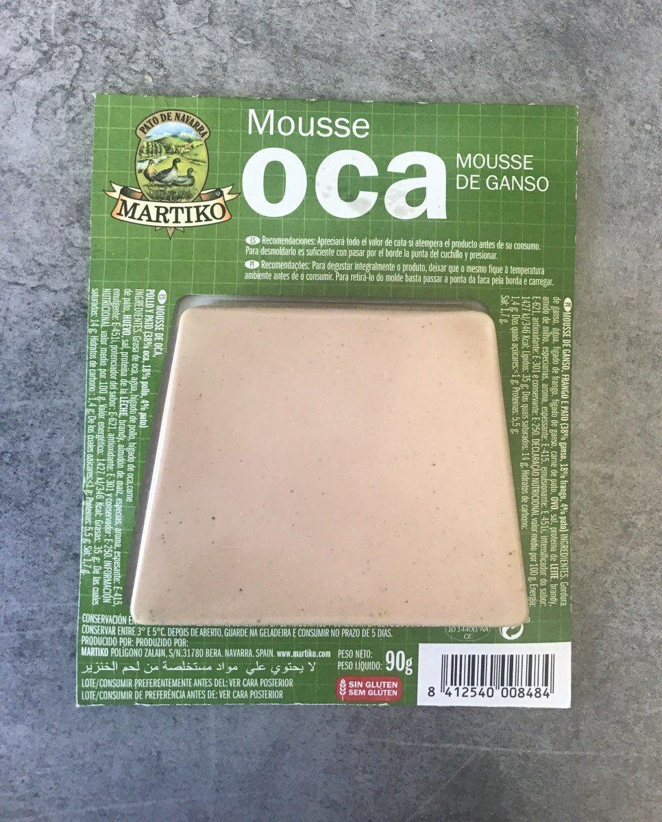 Mousse OCA mousse de granso - Producte - es