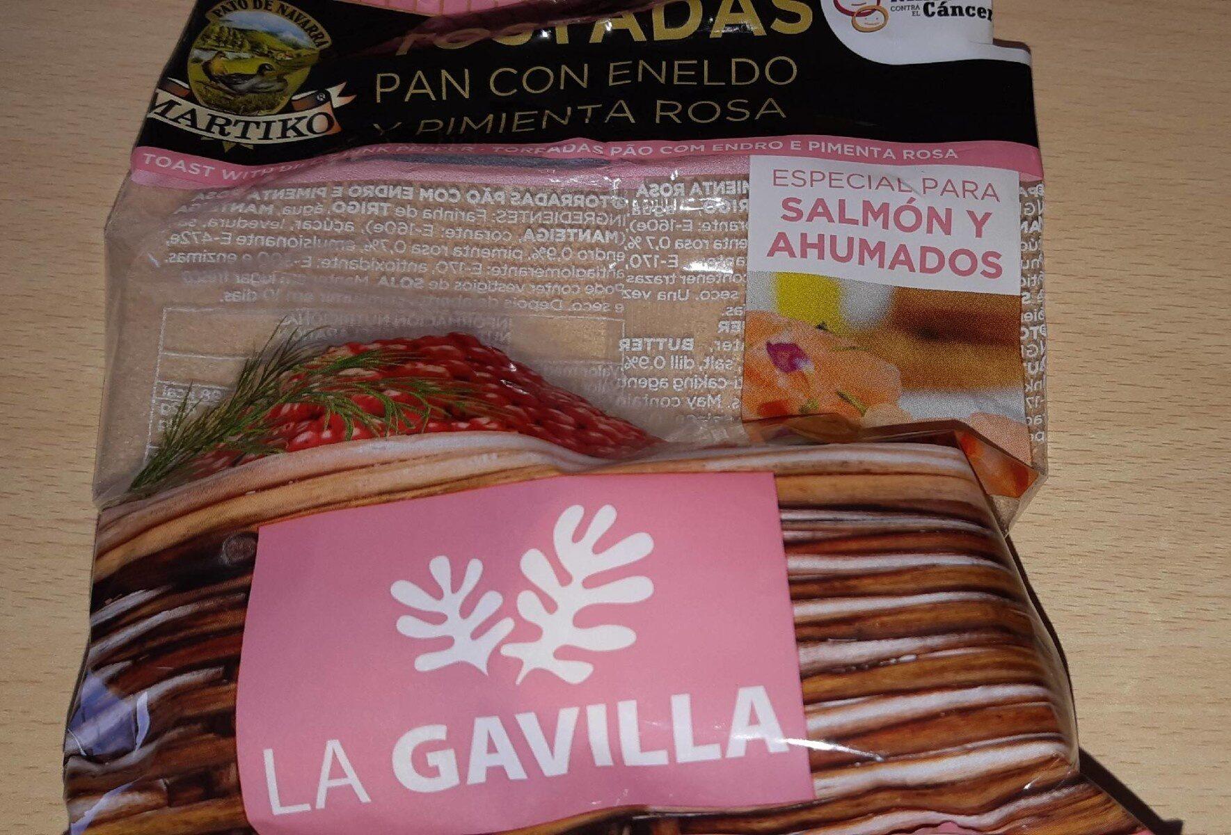 Tostadas pan con eneldo y pimienta rosa - Product