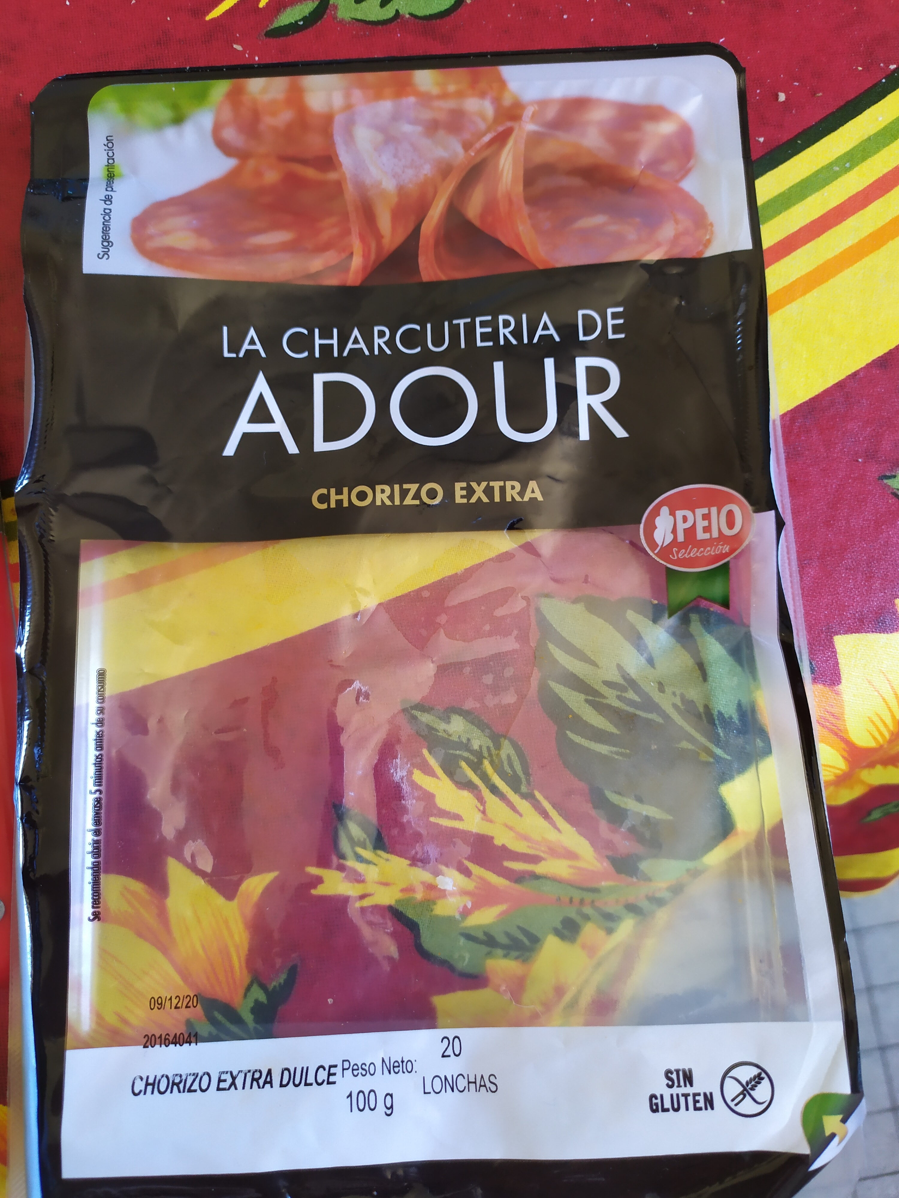 Chorizo extra - Producte - es