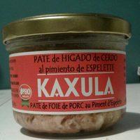Kaxula - Producto