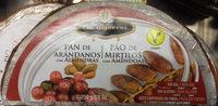 Pan de arándanos con almendras - Producte