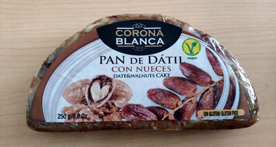 Pan de dátil con nueces - Produit - fr