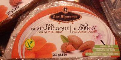 Pan de albaricoque con almendras - Producto