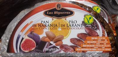Pan de naranja con chocolate - Producto