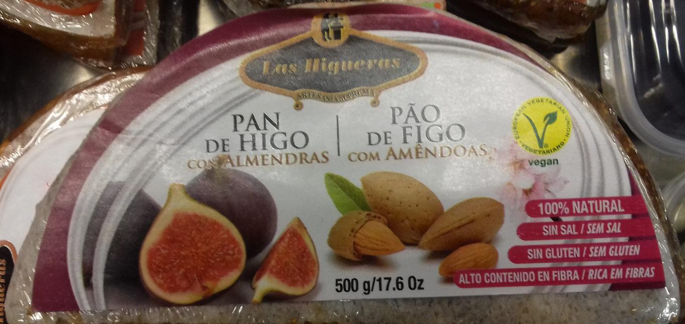 Pan de higo con almendras - Product