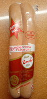 Salchicha cocida tipo frankfurt - Producto
