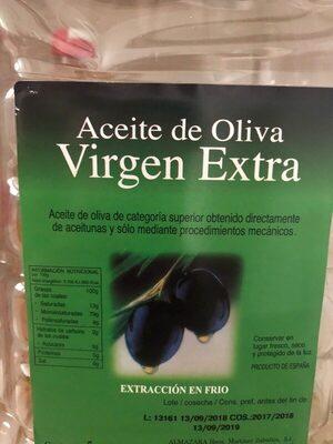 Aceite de Oliva Virgen Extra Chelva - Ingredients - es