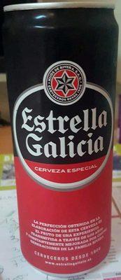 Estrella Galicia Cerveza especial - Producto
