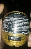 Estrella Galicia 0,0 Tostada - Nutrition facts - es