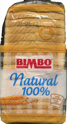 Pan de molde natural 100% - Producto - es