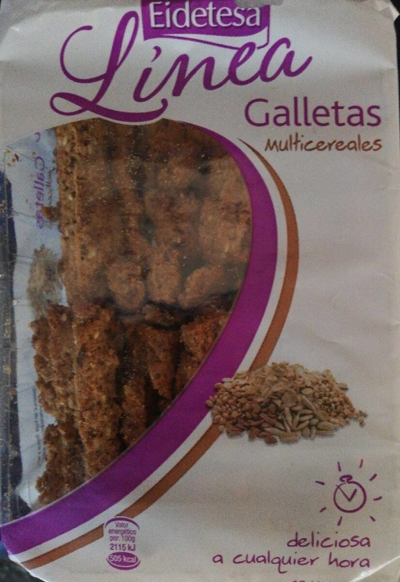Galletas multicereales - Producte