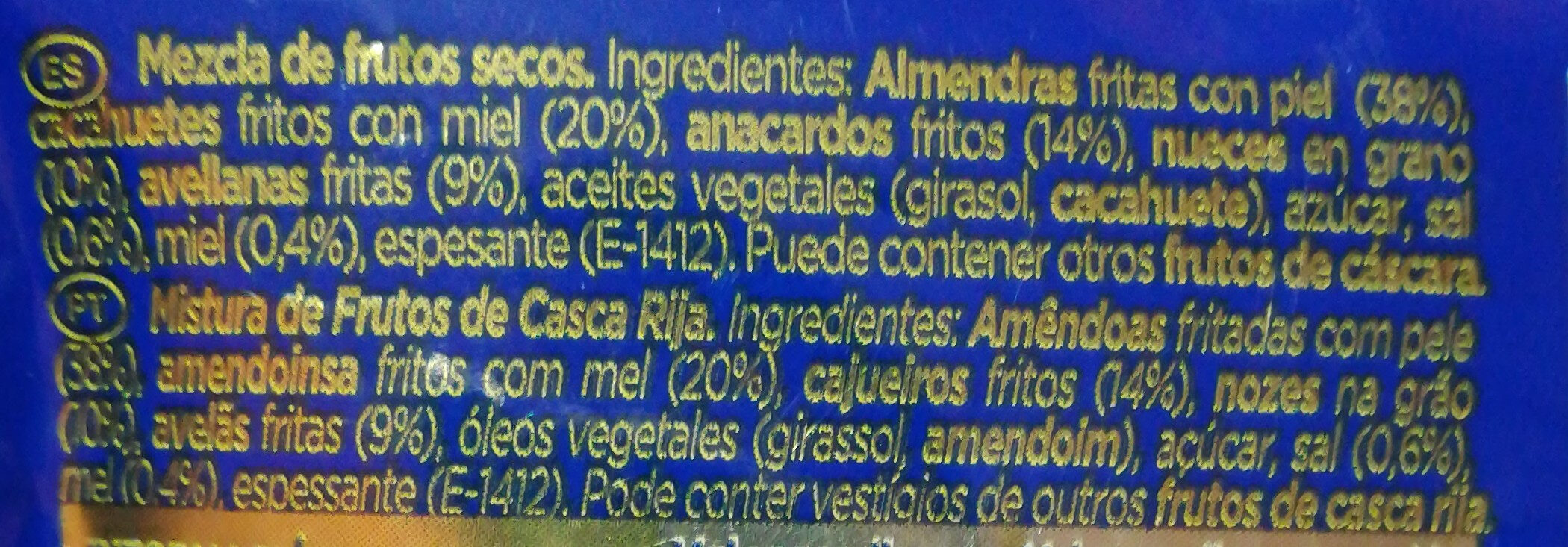 Cocktail deluxe - Ingredientes - es