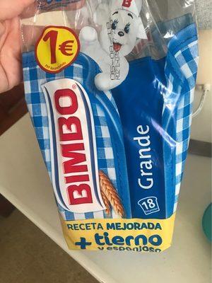 BIMBO grande - Producto