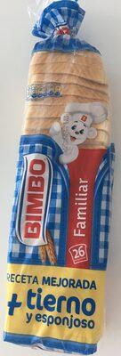 Pan de Molde Familiar con Corteza - Produit - es