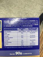 Benefit - Informació nutricional - es