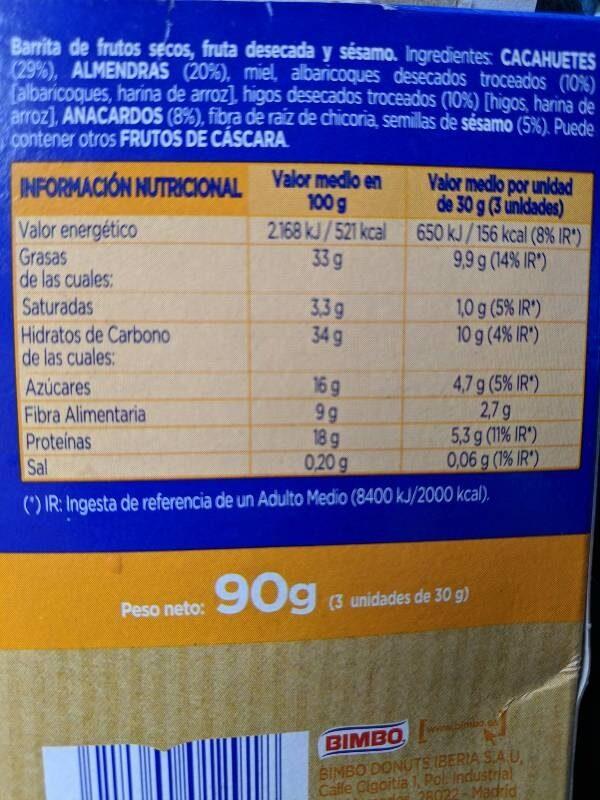 Eagle benefit - Información nutricional - es