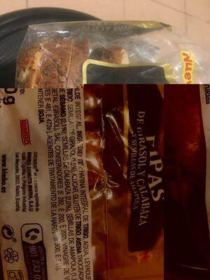 Oroweat pipas de girasol y calabaza y semillas de amapola - Ingredientes - es