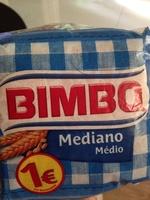 Pan de molde mediano - Producto - es